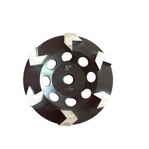 arrow-seg diamond cup wheel for concrete grinding