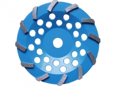single turbo diamond cup wheel for concrete grinding