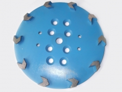 Arrow-seg Diamond Grinding Heads for Concrete Floor Preparation