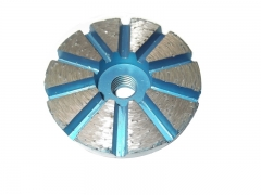 "3"" metal bond floor grinding plates (10 segments)"