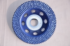 arix button diamond cup wheel for concrete grinding