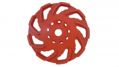 L-seg diamond cup wheel for concrete grinding