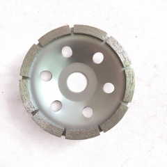 single row diamond cup wheel for stone