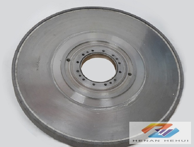 CBN grinding wheel for crankshaft-vitrified bond