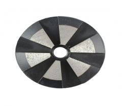 "3"" metal bond floor grinding plates (6 segments)"