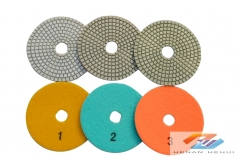 3-Step polishing pad for ceramic-dry