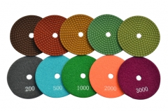 5-Step stone polishing pads