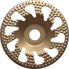 spiral arix button diamond cup wheel for concrete grinding