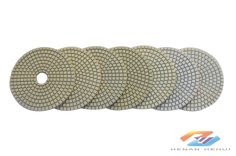 7-Step polishing pad for ceramic-dry