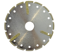 electroplating diamond segmented cutting  disc