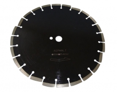 Laser welding diamond saw blade for asphalt concrete