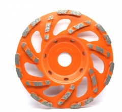 turbo segment diamond cup wheel