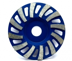 metal bond cup wheels for concrete floor grinding