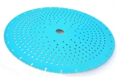 vacuum brazing diamond saw blade for metal cutting(silent type)